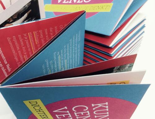 Gevouwen folders